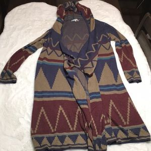 Cecico southwest pattern sweater size large